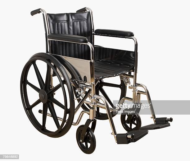 Empty wheelchair