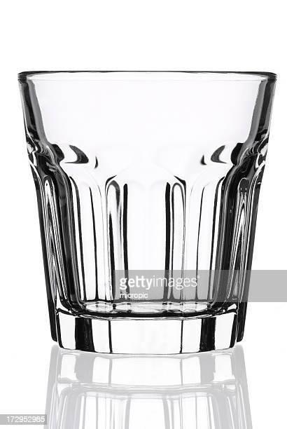 Leere whisky Glas