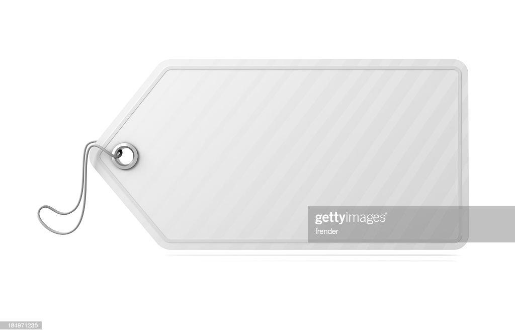 Empty White tag
