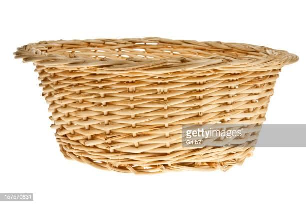 Vacío cesta de mimbre