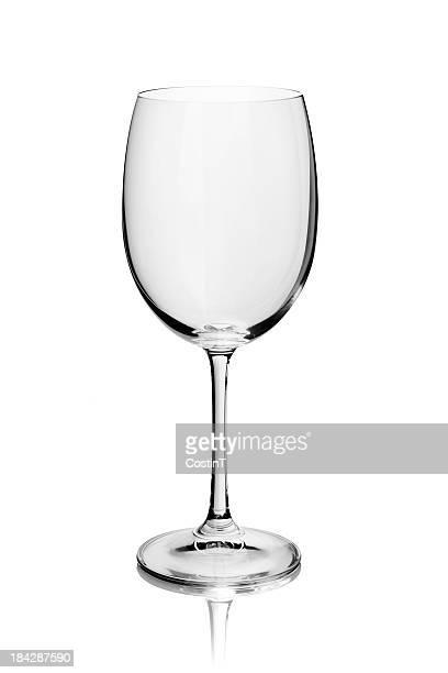 Copo de Vinho vazia