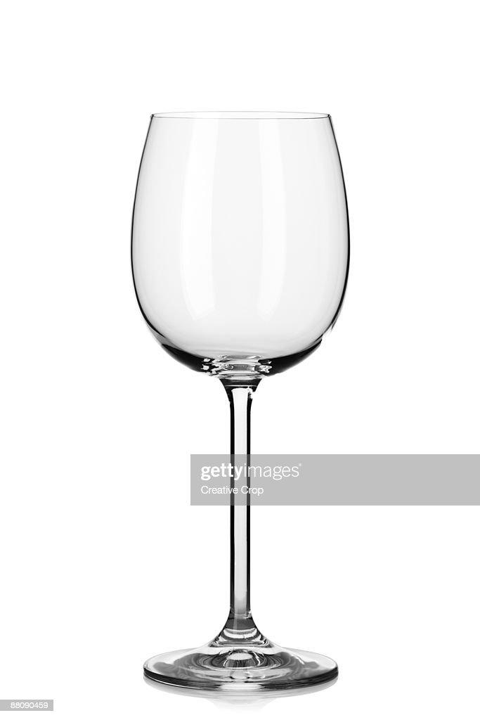 Empty wine glass : Stock Photo