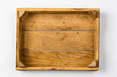 Empty Wooden Container
