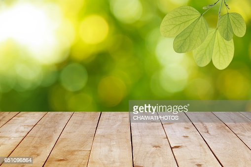 Empty wooden table planks. : Stock Photo