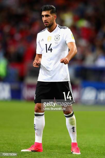 Emre Can of Germany in action during the FIFA Confederations Cup Russia 2017 Group B match between Germany and Chile at Kazan Arena on June 22 2017...