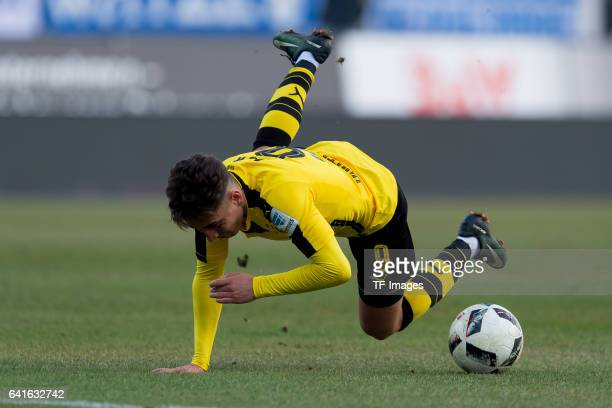 Emre Mor of Borussia Dortmund in action during the Bundesliga match between SV Darmstadt 98 and Borussia Dortmund at Jonathan Heimes Stadion am...