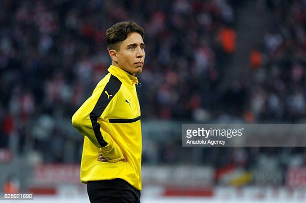 Emre Mor of Dortmund warms up before the Bundesliga soccer match between 1 FC Cologne and Borussia Dortmund at the RheinEnergie stadium in Cologne...