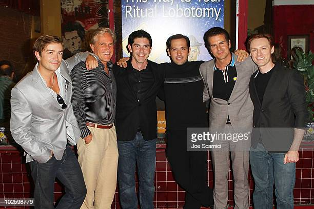 Emrhys Cooper Randal Kleiser Felix Pire Paul Storale Vincent DePaul and Fox Michaels arrive at 'This Way To Your Ritual Lobotomy' Los Angeles Opening...