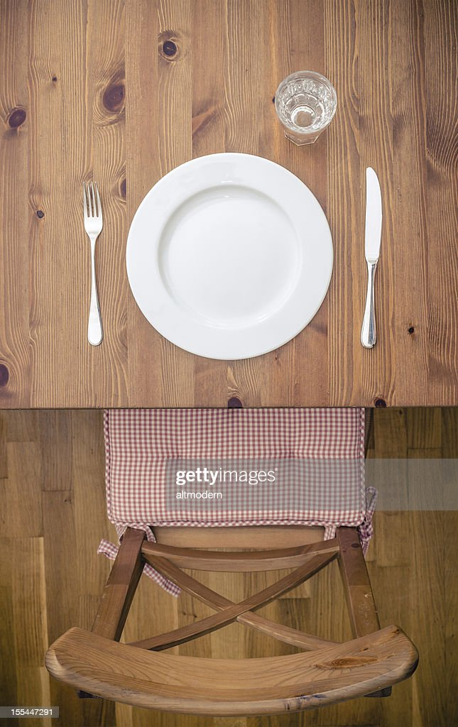 emty plate : Stock Photo