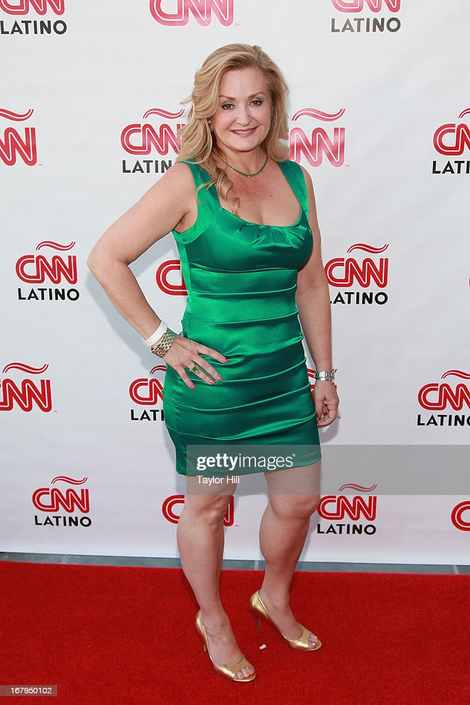 CNN en Espanol General Manager Cynthia Hudson attends the CNN en Espanol and CNN Latino 2013 Upfront at Ink 48 Hotel on May 2, 2013 in New York City.