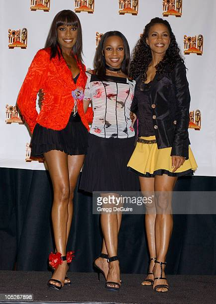 En Vogue during 18th Annual Soul Train Music Awards Press Room at International Cultural Center in Los Angeles California United States