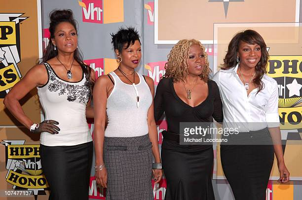 En Vogue during 2005 VH1 Hip Hop Honors Arrivals at Hammerstein Ballroom in New York City New York United States