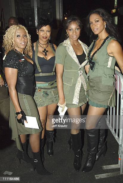 En Vogue during 2005 VH1 Hip Hop Honors Backstage and Audience at Hammerstein Ballroom in New York City New York United States