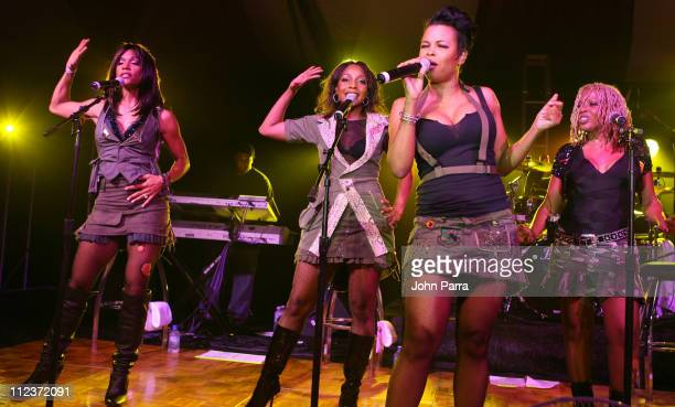 En Vogue during Best Buddies 9th Annual Miami Beach Gala 'Havana Nights' Inside and Backstage at Star Island in Miami Beach Florida United States
