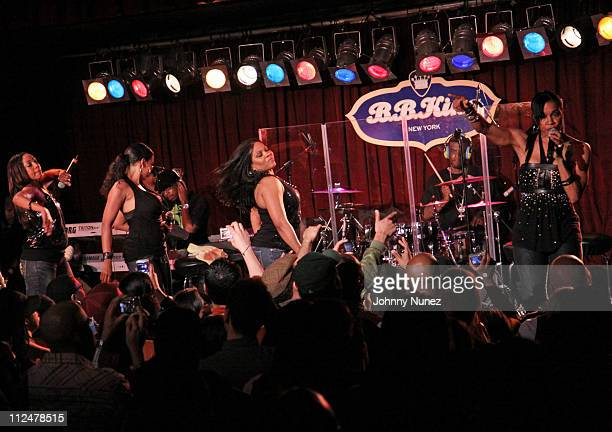 En Vogue performs at BB King Blues Club Grill on May 10 2009 in New York City