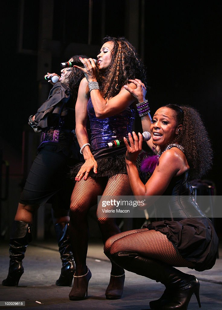 En Vogue performs at Christopher Street West's 40th Anniversary LA PRIDE on June 12 2010 in West Hollywood California