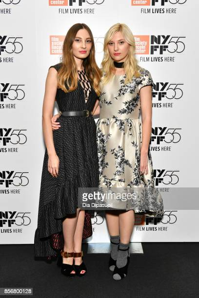 Ena Talakic and Ines Talakic attend a screening of 'Hall of Mirrors' during the 55th New York Film Festival at The Film Society of Lincoln Center...