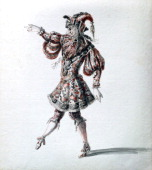 'Enchanted Hero' c1684 Alquif enchanted knight for the rerun of the opera 'Amadis or Amadis de Gaule' by Lully in 1684 Found in the collection of the...