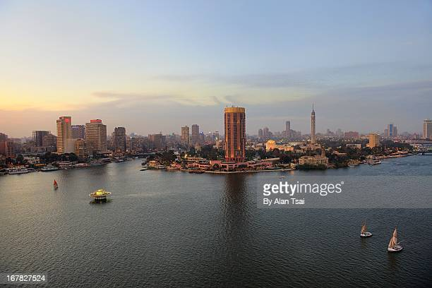 End of Nile ... Cairo