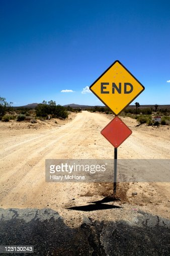 End of road : Stock Photo