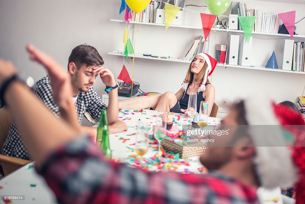 End of the party : Stock Photo