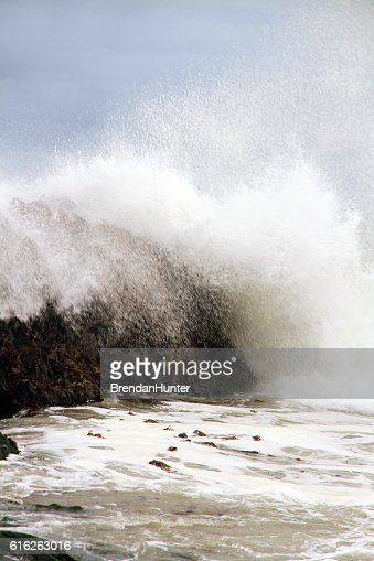 End of the Spray : Stock Photo