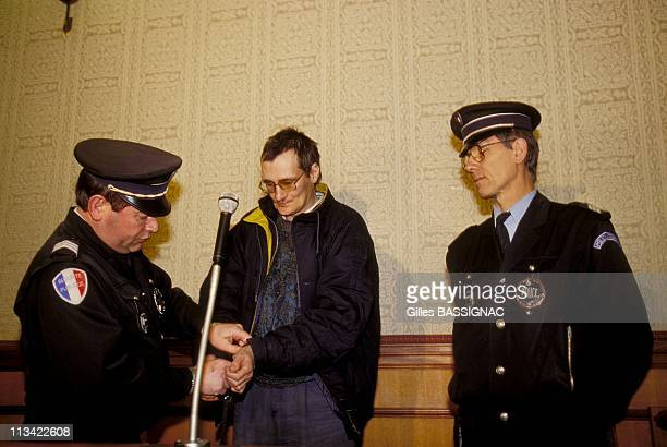 End Of The Trial Of Francis Heaulme On January 29Th 1994