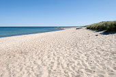 Endless beach.