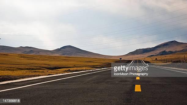 Endless Road in Inner Mongolia