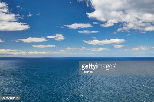 Endless sea and sky : Stock Photo