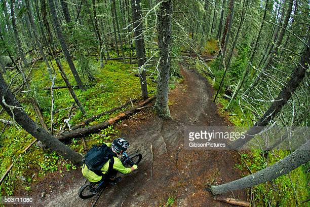 Enduro descente de vélo de montagne Racer