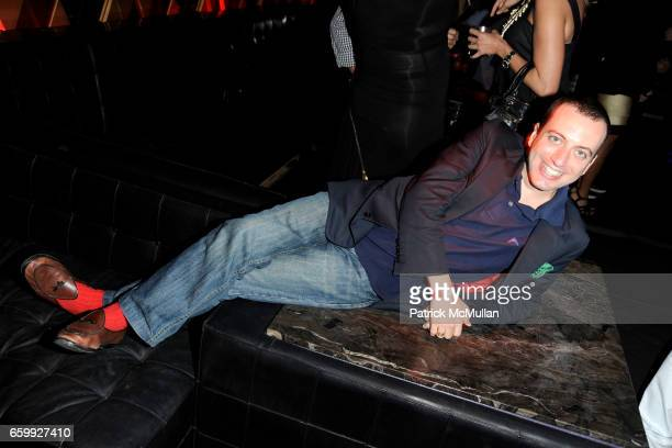 Eneas Capalbo attends Party at WALL Hosted by VITO SCHNABEL STAVROS NIARCHOS ALEX DELLAL at WALL at the W SOUTH BEACH on December 3 2009 in Miami...