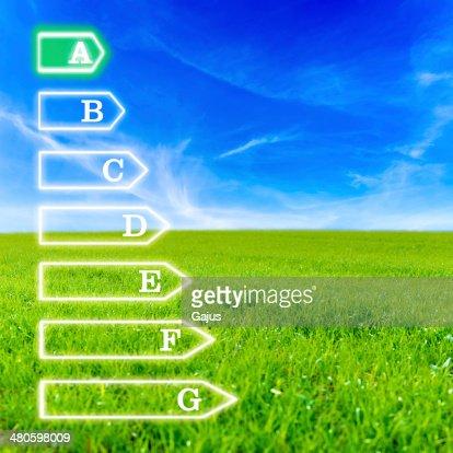 Energetic efficiency : Stock Photo
