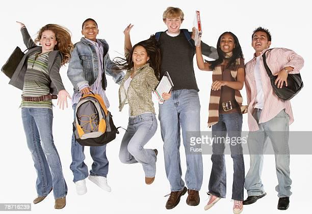 Energetic Teens