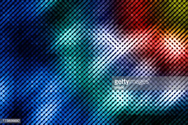Energy dot abstract background