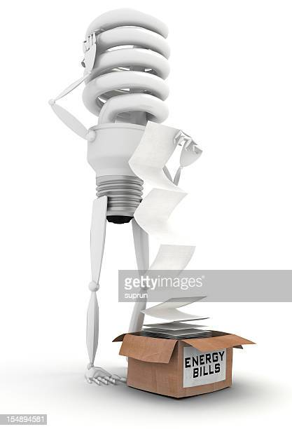 Energy Efficient bulb suprised with the bills