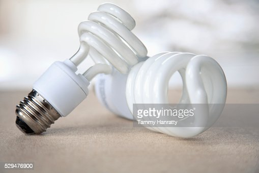 Energy efficient bulbs : Stock-Foto