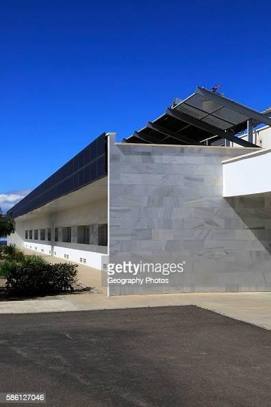 Energy efficient CIEMAT building research at Solar energy research establishment near Tabernas Almeria Spain
