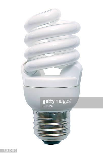 Energiesparende Glühbirne Neonlicht