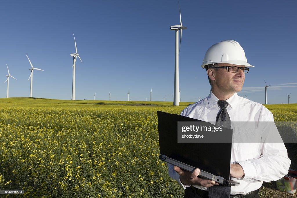 Ingegnere di energia : Foto stock
