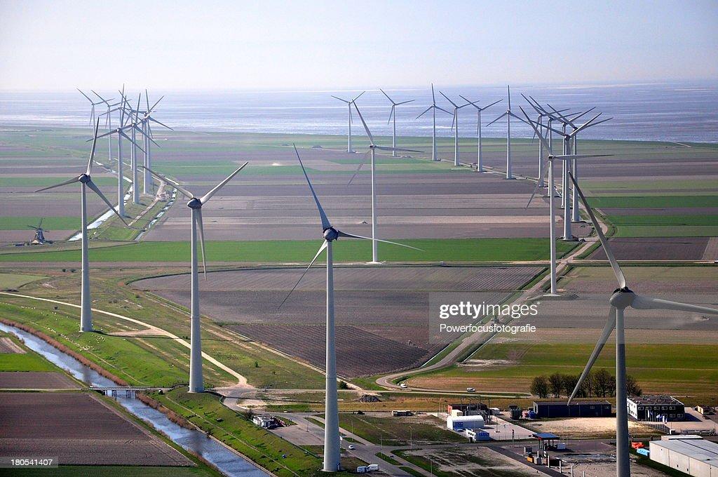 Energy Park Eemshaven : Stock Photo