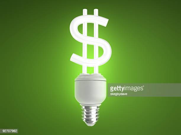 Energy Saving Light Bulb Dollar