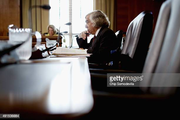 Energy Secretary Ernest Moniz testifies before the Senate Energy and Natural Resources Committee about the potential modernization of the Strategic...
