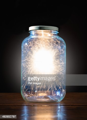 Energy trapped in jar