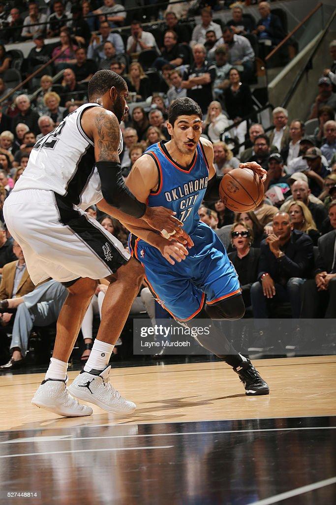 Oklahoma City Thunder v San Antonio Spurs - Game Two ...