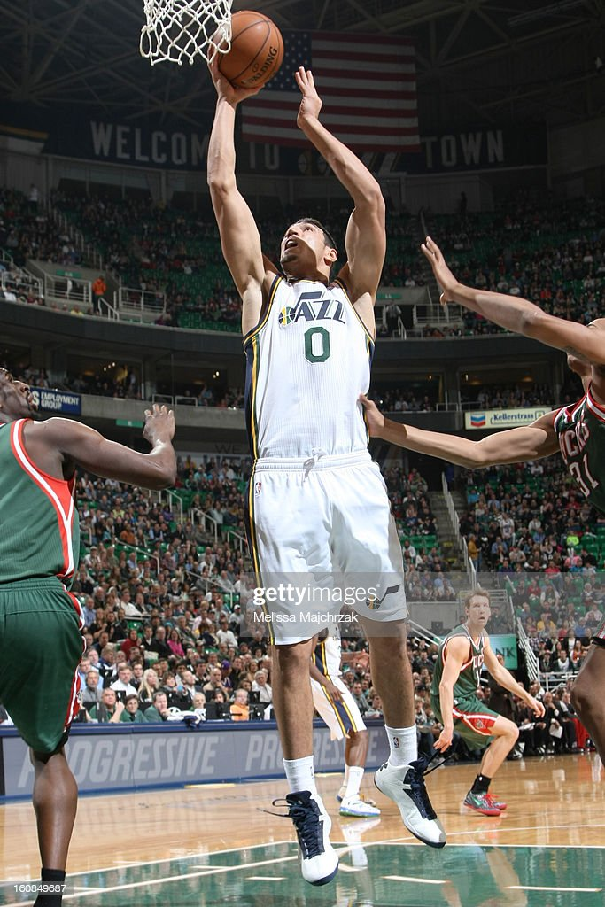 <a gi-track='captionPersonalityLinkClicked' href=/galleries/search?phrase=Enes+Kanter&family=editorial&specificpeople=5621416 ng-click='$event.stopPropagation()'>Enes Kanter</a> #0 of the Utah Jazz drives to the hoop against the Milwaukee Bucks at Energy Solutions Arena on February 06, 2013 in Salt Lake City, Utah.