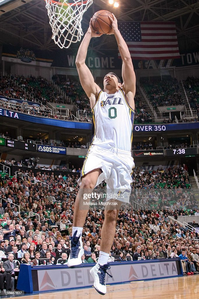 <a gi-track='captionPersonalityLinkClicked' href=/galleries/search?phrase=Enes+Kanter&family=editorial&specificpeople=5621416 ng-click='$event.stopPropagation()'>Enes Kanter</a> #0 of the Utah Jazz dunks against the Minnesota Timberwolves at Energy Solutions Arena on January 2, 2013 in Salt Lake City, Utah.