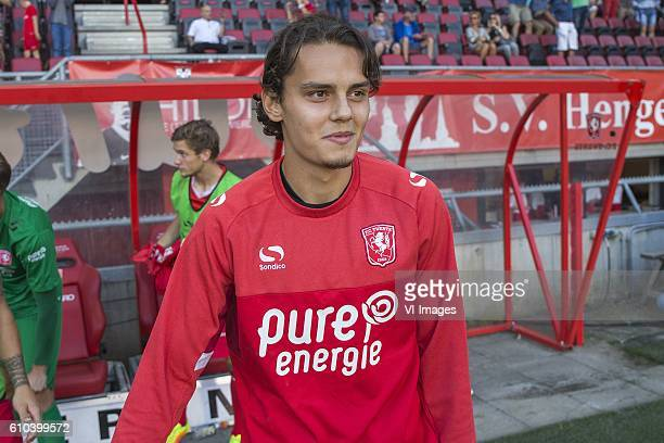 Enes Unal of FC Twente during the Dutch Eredivisie match between FC Twente and Vitesse Arnhem at the Grolsch Veste on September 25 2016 in Enschede...