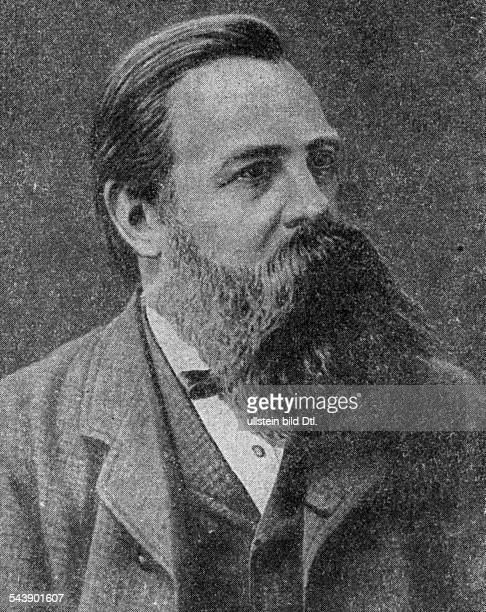 Engels Georg Politician Socialist Germany*2811182005081895 Portrait undated Vintage property of ullstein bild