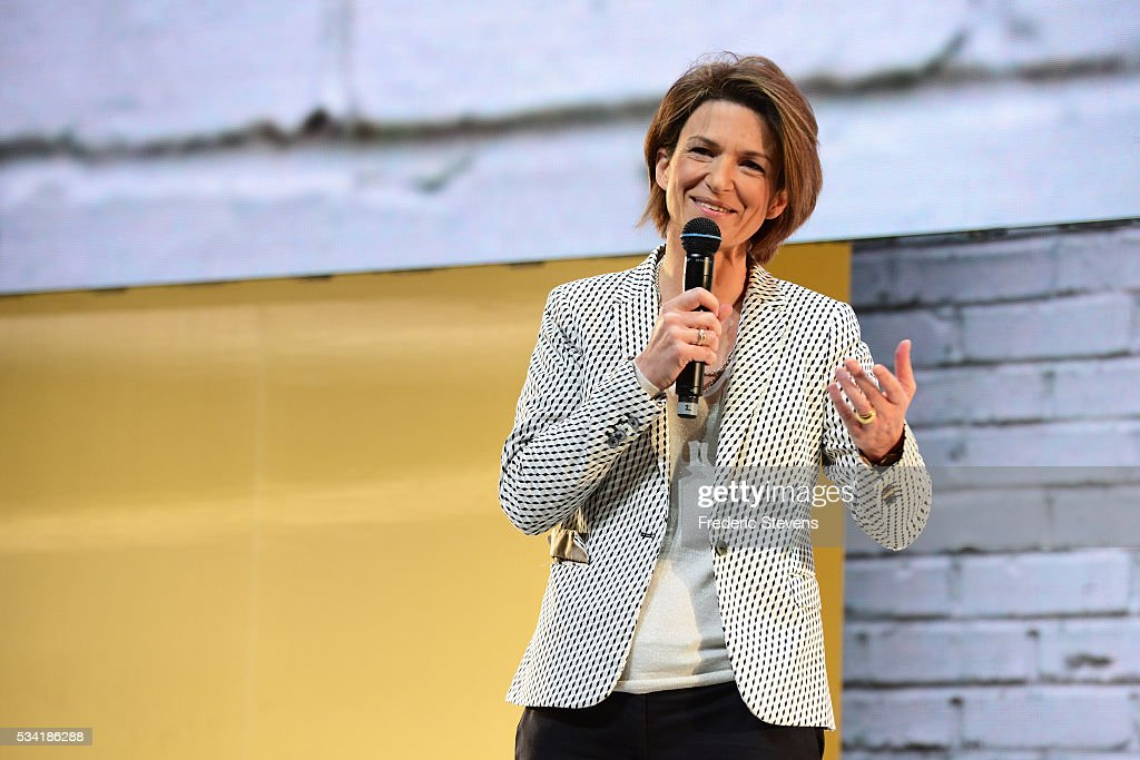 Engie CEO Isabelle Kocher addresses France's Public Investment Bank (BPI Bpifrance) event Bpifrance Inno Generation BIG at AccorHotels Arena on May 25, 2016 in Paris, France.